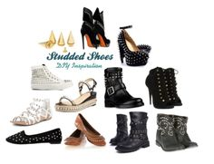 DIY Studded Shoes #summer #shoes #diy #4ways