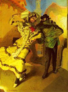 Claudio Castelucho(1870ー1927)「Spanish Dancers」