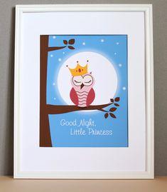 Good Night Little Princess, 8x10