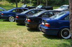 BMW e36 group at germanfest Chotowa