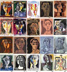 thecricketchirps:    Picasso Portraits