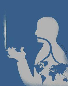 Fumador. Autor: Falco
