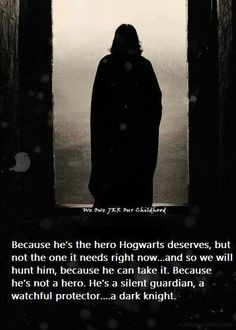 Funny pictures about The Dark Knight meets Harry Potter. Oh, and cool pics about The Dark Knight meets Harry Potter. Also, The Dark Knight meets Harry Potter. Harry Potter World, Mundo Harry Potter, Harry Potter Love, Hermione Granger, Severus Hermione, Severus Rogue, Severus Snape Quotes, Severus Snape Always, Harry Potter Severus Snape