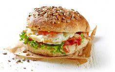 Σπιτικά σάντουιτς με αυγό
