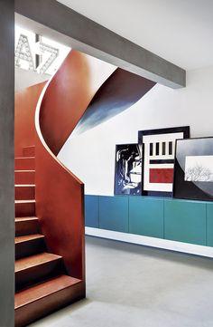 Guilherme Torres honrar la cultura de su país con una mirada vanguardista en el diseño de este departamento.