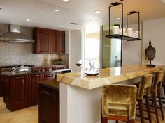 These Kitchen Countertops are the perfect feature for their respective kitchens | Ideas | PaperToStone