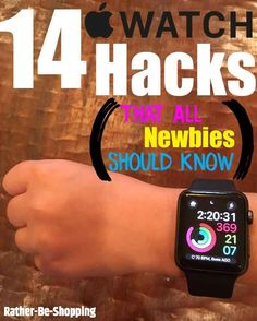The 14 Apple Watch Hacks That All Newbies Need to Know #androidwatch,digitalwatch,gpswatch,sportwatch,quartzwatch,luxurywatches,elegantwatches,bestwatches,beautifulwatches,menswatches,appleWatch,smartwatches