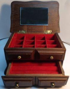 1000 images about nice vintage items for sale online on - Comment fabriquer une boite a bijoux en bois ...