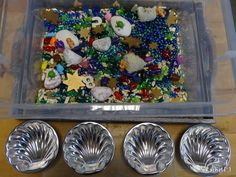 Ocean Sensory Tub (from Stimulating Learning with Rachel)