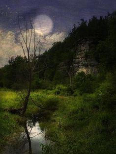 Blue Moon II: Photo by Photographer Ron Germundson