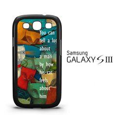 Sunglasses Cat Y2366 Samsung Galaxy S3 Case