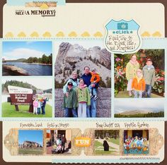 National Scrapbook Day Challenge May 2 - Traditional example