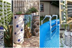 Decorating and Useful PVC Pipes for Your Garden
