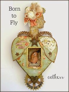 Retro Café Art Gallery: Brand New Doll Kits + Tons of Tim Holtz‏