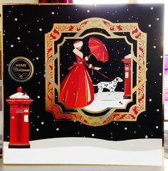 (150) Christmas Card (8ins x 8ins) makings from Hunkydory