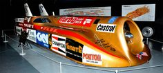 Blue Flame's record was beaten by Thrust2, driven by Richard Noble in October 1983. The British designed jet-powered vehicle attained an average speed of 633.468 mph (1,019.468 km/h) at the Black Rock Desert in Nevada. This record stood until broken by Richard Noble's follow up car, ThrustSSC, in 1997