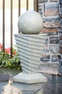 Makers of Fine Stone Garden Accents Concrete Fountains, Stone Pillars, Garden Stones, White Stone, Landscape, Decor, Stones For Garden, Scenery, Decoration