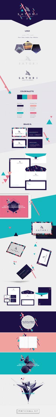 Satori Analytics Agency Branding on Behance   Fivestar Branding – Design and Branding Agency & Inspiration Gallery
