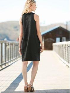 LINEN RICKY DRESS - Pendleton