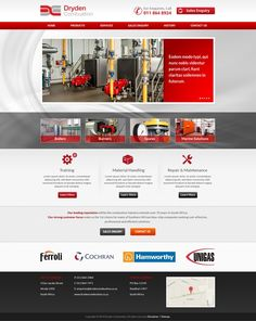 Website revamp for hot water boilers company by 200099