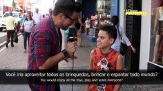 Easy Brazilian Portuguese 1 - If you were invisible!