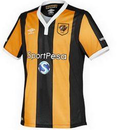 camisetas de futbol online 2018: Camiseta Hull City Primera 2018 baratas