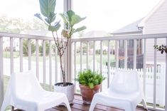 This screened in porch is amazing and has so many inexpensive decor finds and inspiration for creating an inviting outdoor room this summer! Porch Makeover, Screened In Porch, Porch Ideas, Outdoor Rooms, My House, Patio, Create, Amazing, Inspiration