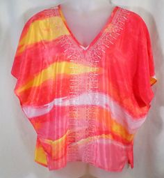 Chicos 2 Top Batwing Sleeves V Neck #Chicos #Blouse #Casual