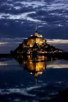 Mont Saint Michelle, France