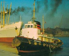 """Built in Bristol, England for Johnston Warren Lines Ltd, of Liverpool and launched as """"Rossmore""""."""