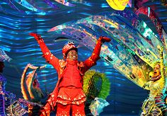 Atlantan Tituss Burgess is Sebastian in the Broadway production of 'The Little Mermaid.' Here he performs 'Under the Sea....