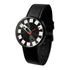 in black. Smart Watch, Leather, Accessories, Black, Contrast Color, Watch, Clocks, Smartwatch
