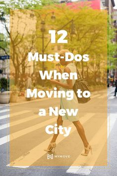 Moving to a new city doesn't have to be a nightmare. Scope out a potential new city using these tips to feel confident when you make your move. Tips For Moving Out, Moving Costs, Moving To Another State, Moving Checklist, Home Buying Tips, International Travel Tips, Moving House, Military Life, New City