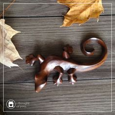 """Handcarved from sustainable indian rosewood, this sculpture is 6"""" long. Handmade by talented artisans in developing countries. Imported."""