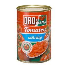 Gestückelte Tomaten aus der Dose