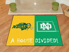North Dakota State / North Dakota House Divided Mat