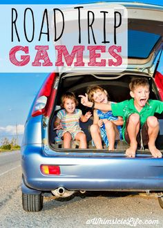 Ten road trip games with no advance planning needed!  These are guaranteed to keep kids and adults happy.  Ideas for preschoolers and up. (sponsored)