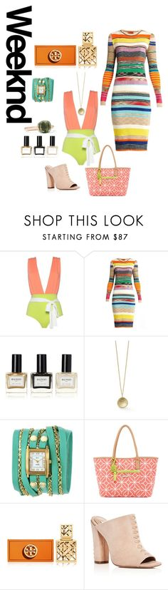 """""""Weekend Style"""" by auntmissymusing ❤ liked on Polyvore featuring Missoni, Balmain, La Mer, Trina Turk, Tory Burch, Rachel Zoe, Pomellato and weekend"""