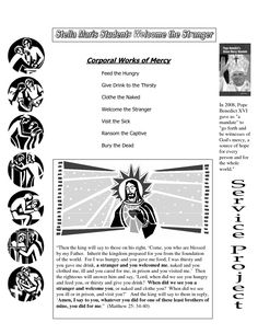 Spiritual Works of Mercy | Quizes and Spiritual