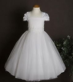 First Communion Dresses Unique | first communion dress 222 perfect for holy communion and weddings ...