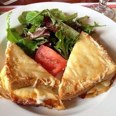 Croque Monsieur recipe from Les Chefs de France in EPCOT at Disney World