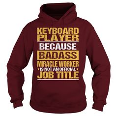 Awesome Tee For  Keyboard Player