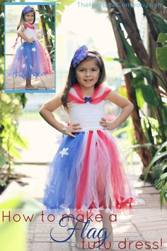 diy flag tutu dress'> </p> <p> I love this dress because it looks complicated, but it is really <em>really </em>easy. </p> <p> Gather up your supplies. You'll need the following: </p> <p> <a href=