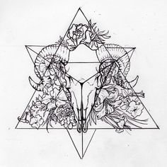 Tetrahedron (Personal Tattoo Design) by morgan96k.deviantart.com on @DeviantArt
