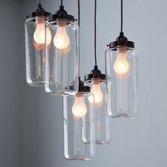 Jar Chandelier (http://blog.hgtv.com/design/2013/02/07/daily-delight-jar-chandelier/?soc=pinterest)