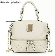 KK handbag and KK wallet Beautiful set cream color Kardashian Kollection Bags Shoulder Bags