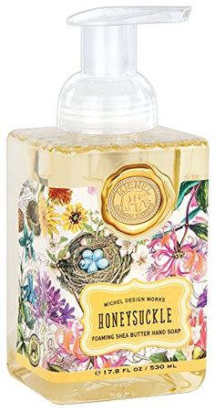 Michel Design Works Foaming Hand Soap, 17.8-Ounce, Honeysuckle Michel Design Works http://www.amazon.com/dp/B00RZK2V8W/ref=cm_sw_r_pi_dp_cktkwb1HPVPF4