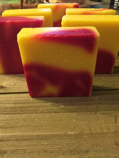If you like fruit you will love this soap, a blend of bananas, kiwi, grapefruit and strawberries. Home Fragrances, Bar Soap, Monkey, Natural, Etsy, Food, Jumpsuit, Essen, Monkeys