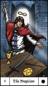 Read more on this deck on www.thequeenssword.com 01 Magician Interview Richard Hartnett's Evolutionary Journey Tarot
