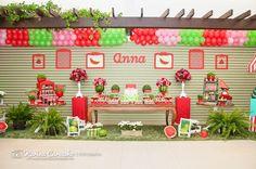 Blog da Yupii Fest: Festa Melancia para Anna